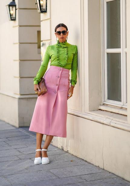 Moda en rosa primavera 2021