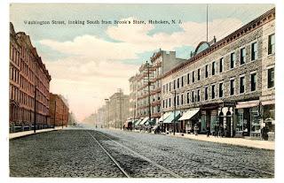 Hoboken, New Jersey, where Frank Sinatra was born