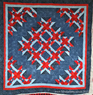'Nine Sisters' quilt made by Pauline