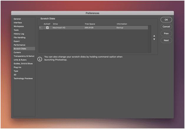 Scratch Disk Full Error - How to Clear Scratch Disk on Mac?