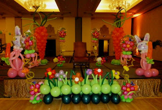 Easter party balloons decoraiton ideas