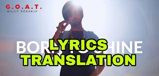 Born To Shine Lyrics | Translation | in English/Hindi - Diljit Dosanjh