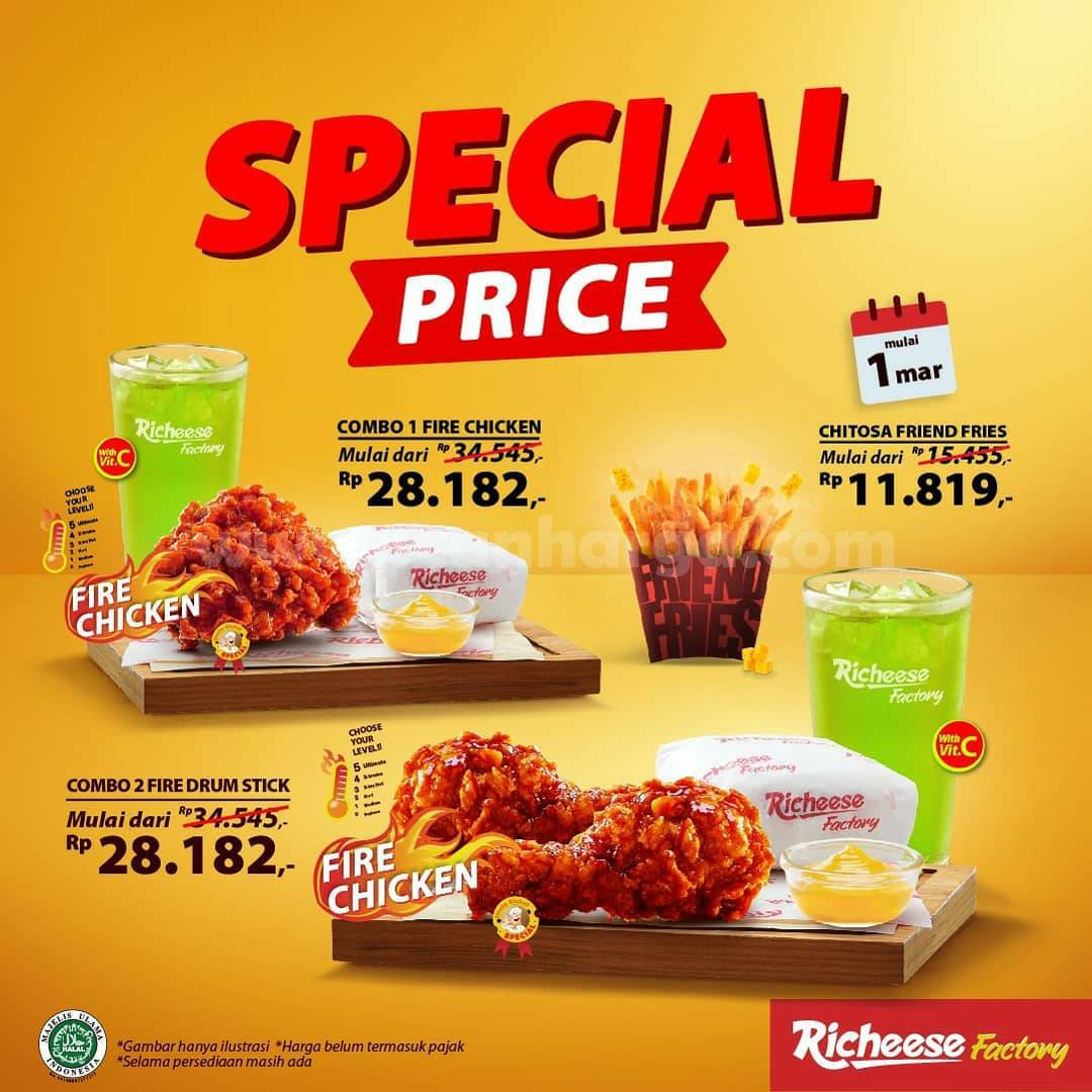 RICHEESE FACTORY SPECIAL PRICE 1 - 3 Maret 2021 1