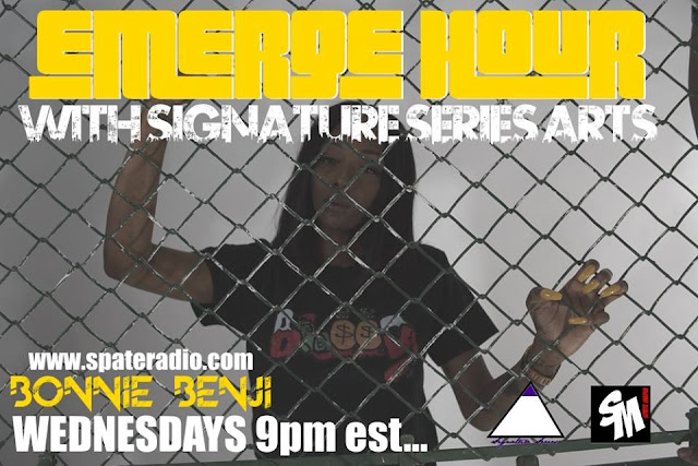 The Emerge Hour With Signature Series Arts & Spate Media Episode 12