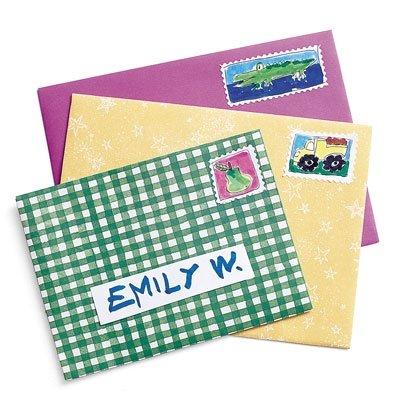 Craft: Colorful Envelopes Craft