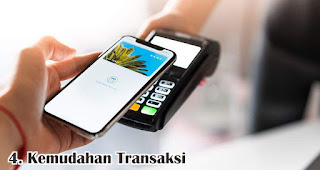 Kemudahan Transaksi merupakan salah satu faktor yang mempengaruhi kepuasan pelanggan