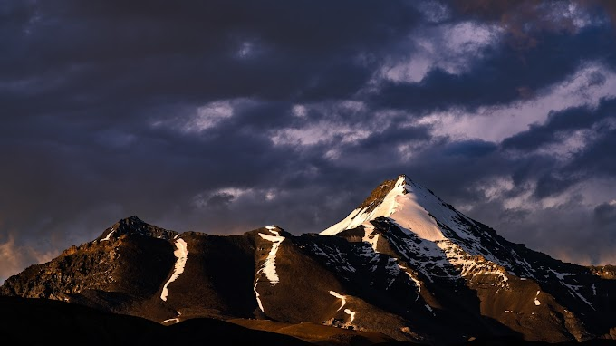 Sunset at Spiti Valley