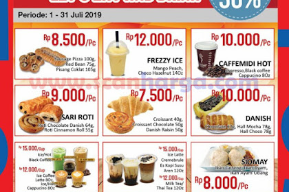 Promo ALFAMIDI Makanan Dan Minuman Murah 1 - 31 Juli 2019