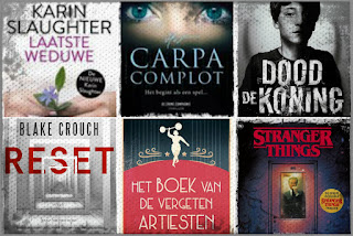 Karin Slaughter, Heleen van der Hoven, Sandrone Dazieri, Blake Crouch, Vera Buck, Gwenda Bond, HarperCollinsHolland, Crime Compoagnie,Xander, The House of Books, Karakter,