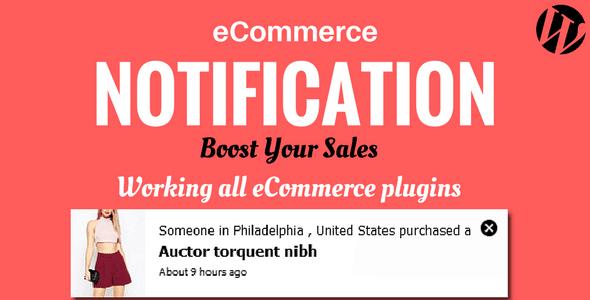 WordPress eCommerce Notification v1.0.6.3