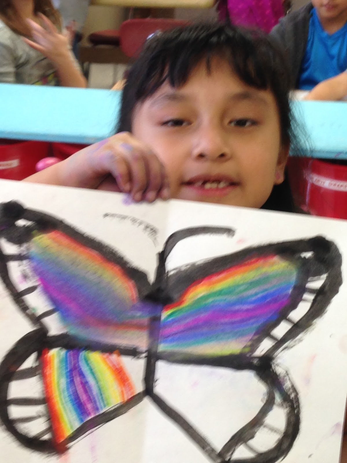 Wildcats Create Line Of Symmetry Butterflies 1st And 2nd