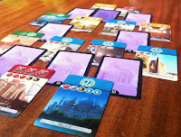 Age 3 Card Stack in 7 Wonders: Duel the Card Game
