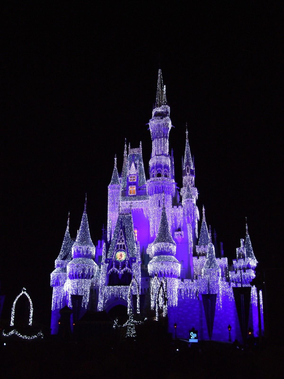 Cinderella Castle Christmas.Digital Disney World Ddw Pic 88 Cinderella Castle Christmas