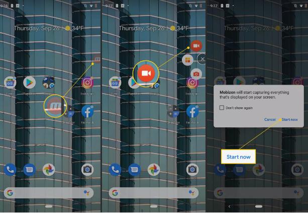 Cara Merekam Layar Samsung 5\