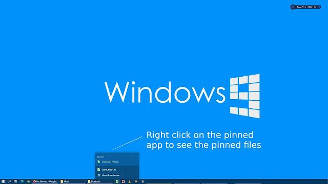 Pinning files on LibreOffice taskbar in Windows 10 - 3