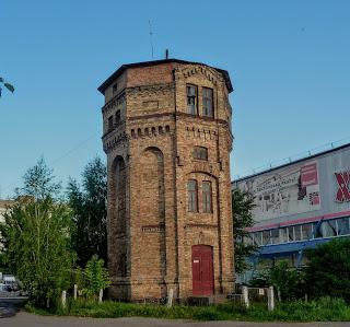Ровно. Железнодорожная станция. Водонапорная башня
