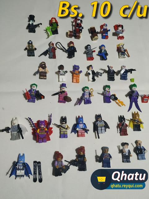 (Bs. 10  c/u) Legos: minifiguras de colección