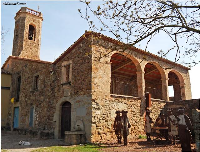 Ermita de Sant Sebastià, Santa Eulàlia de Riuprimer