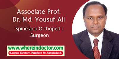 Profile of Associate Prof. Dr. Md. Yousuf Ali
