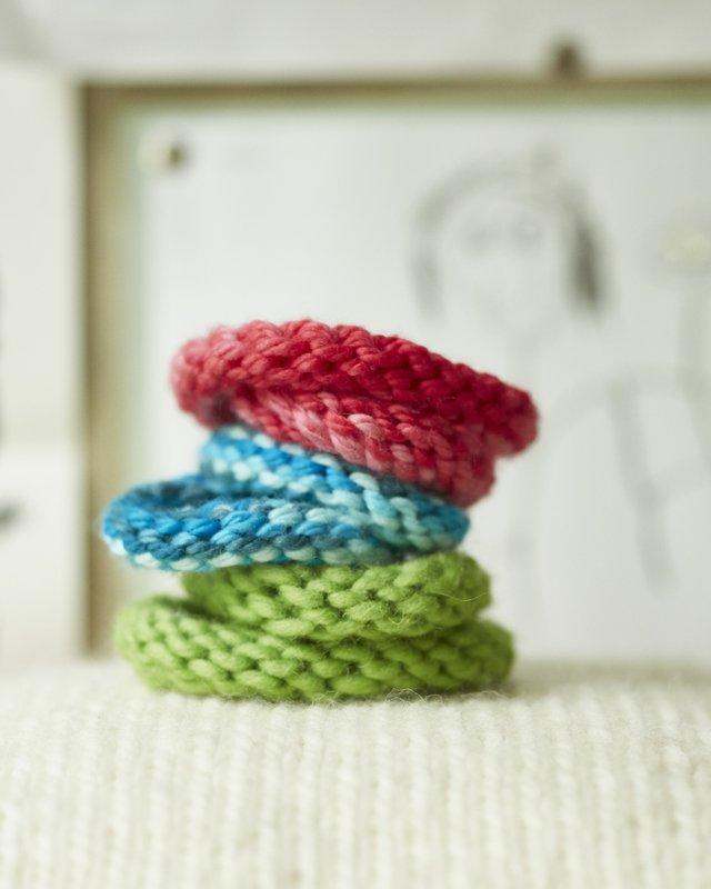 Superfast DIY Knit Bracelets