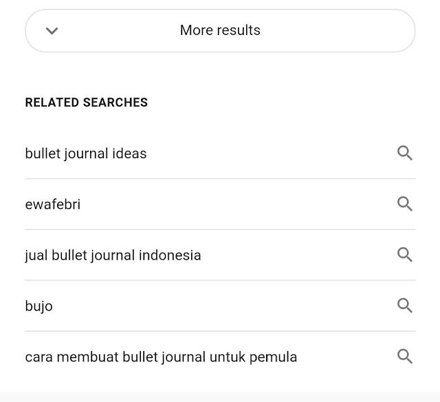 Ewafebri Bullet Journalist Indonesia