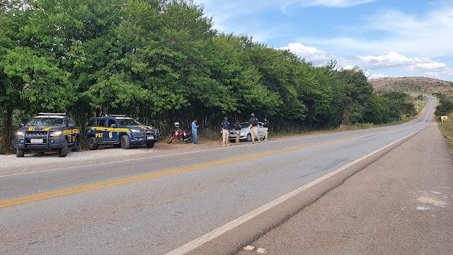 PRF flagra condutores ultrapassando em locais proibidos