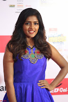 Eesha in Cute Blue Sleevelss Short Frock at Mirchi Music Awards South 2017 ~  Exclusive Celebrities Galleries 001.JPG
