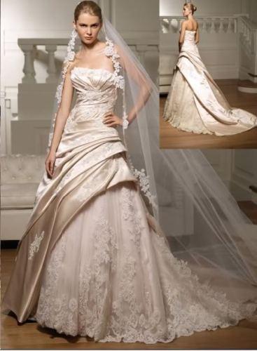 Riso   Raso   abiti e accessori da sposa  Sophia   abito da principessa 770cdbc7e18