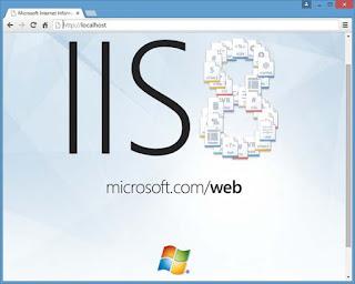 cara install internet information services (iis) 8 di windows 8