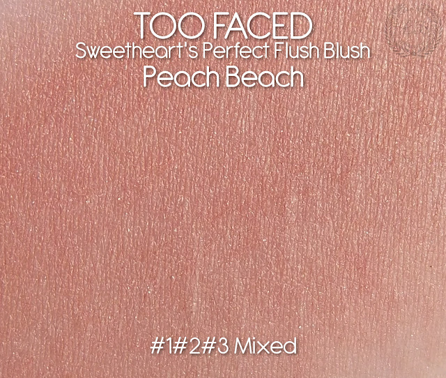 TOO FACED : Sweethearts Perfect Flush Blush.Peach Beach