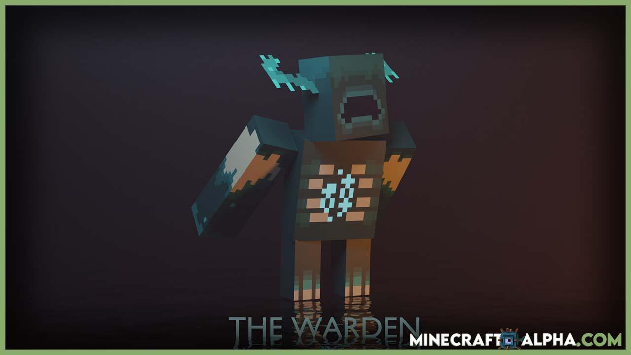 New Minecraft Big Warden  Monster