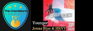 Jonas Blue - YOUNGER Guitar Chords (HRVY)