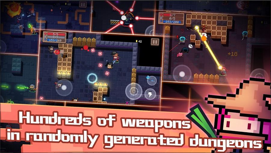 download Soul Knight MOD APK 2.5.1 [Unlimited Money/Gems, Fulll Characters] 2