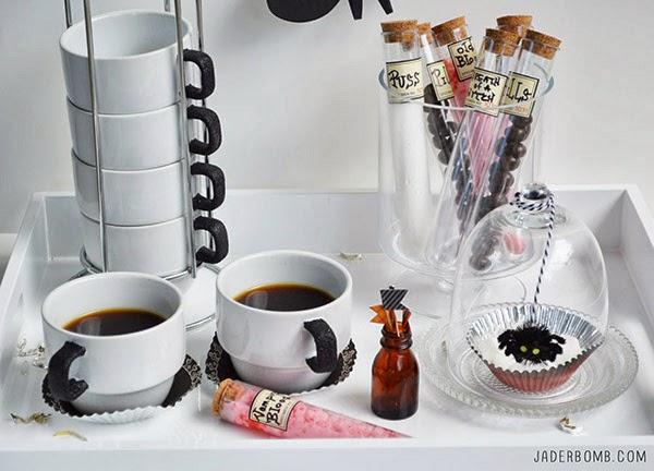 Decoupage cup handles DIY Tutorial