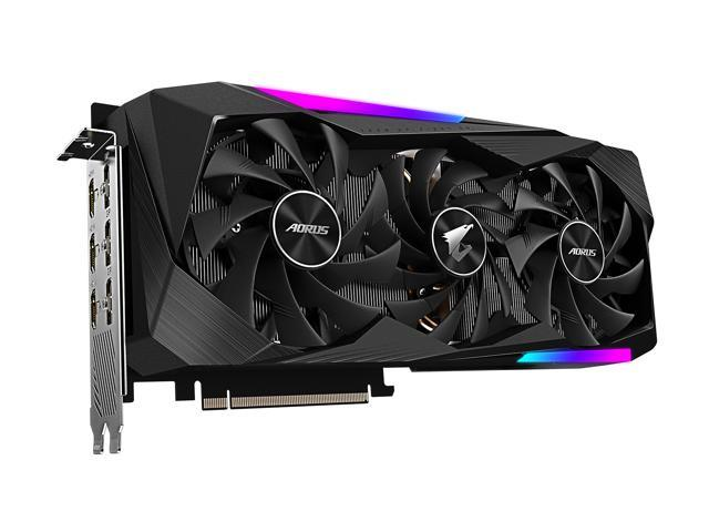 AORUS GeForce RTX 3070 MASTER 8G Review
