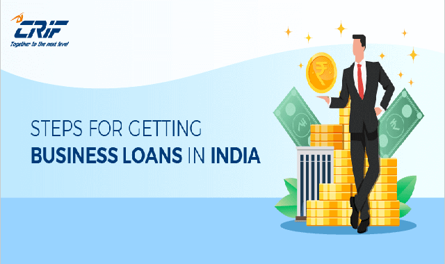 Steps For Getting Business Loan In India #infographic