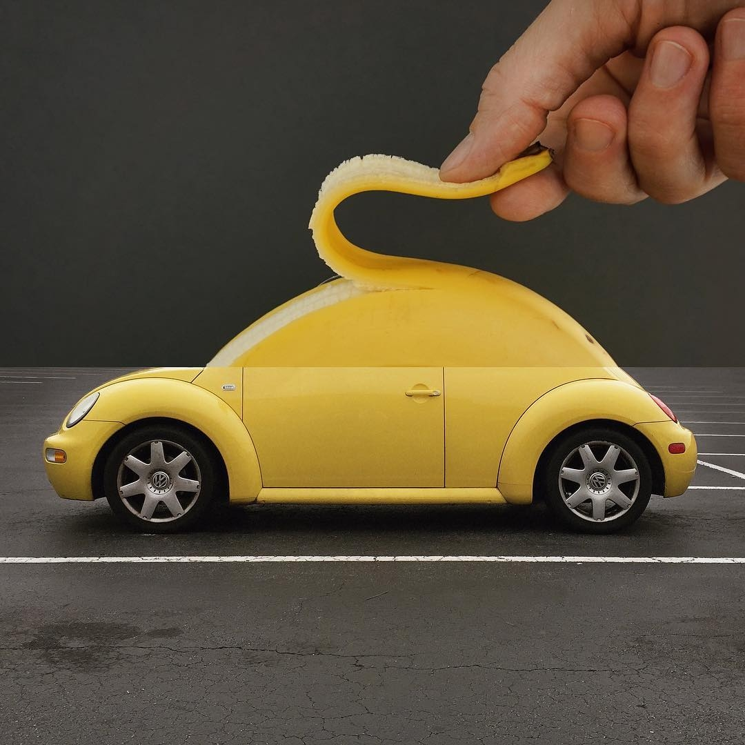 05-Banana-Car-Stephen-McMennamy-Two-Photographs-Joined-to-Make-a-Scene-www-designstack-co