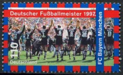 Germany 1997 Bayern Munchen Football