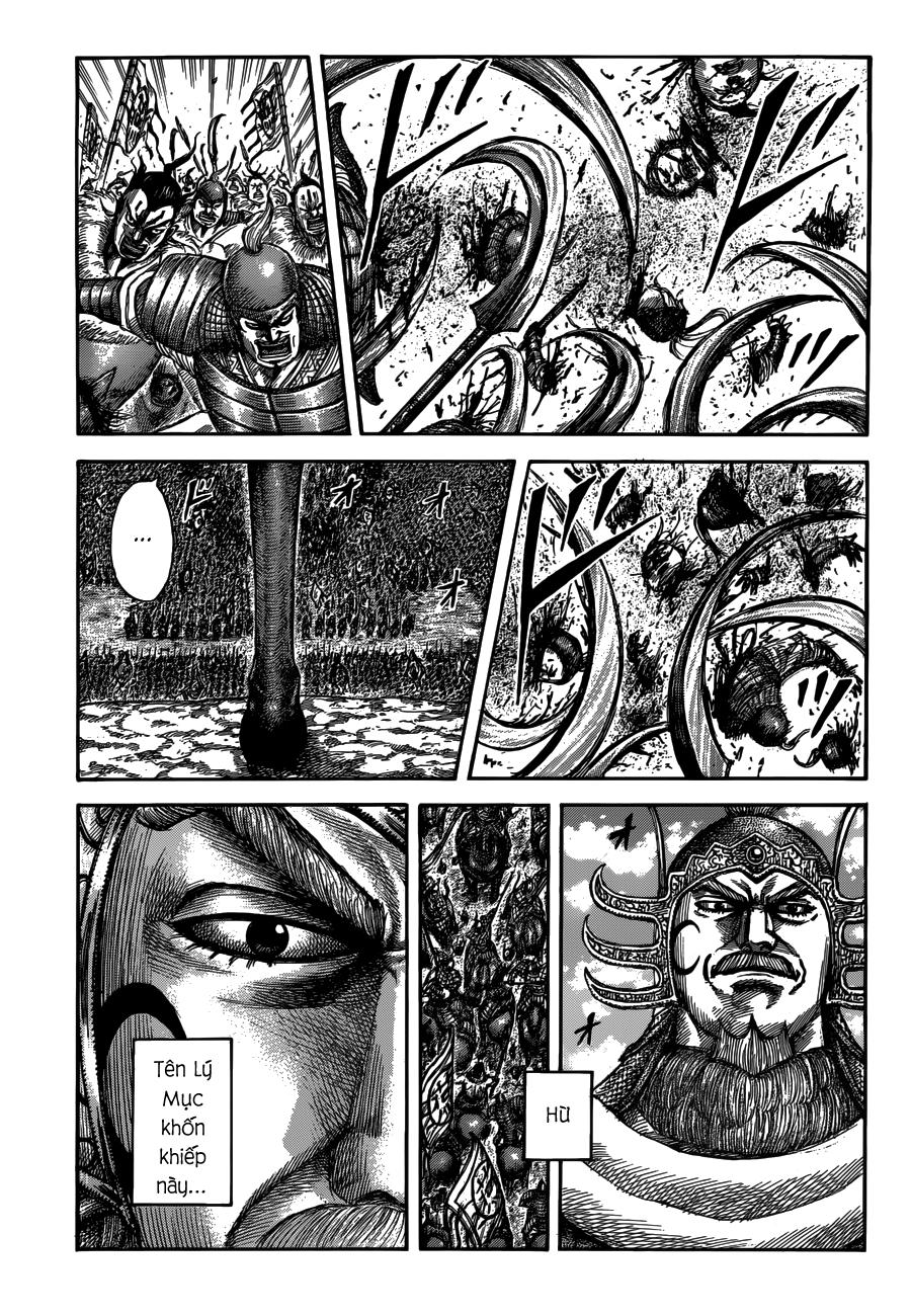 Kingdom chapter 514: kế hoạch thảm hại trang 1