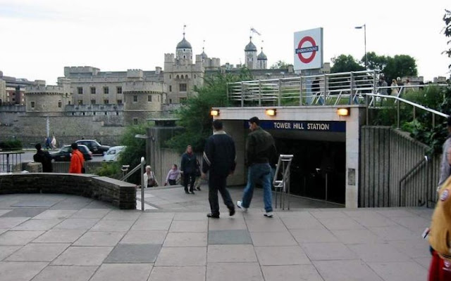 London's Tower Hill Tube station