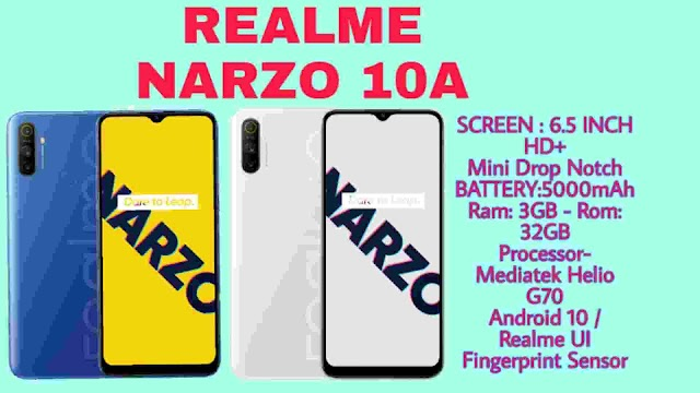 Realme Narzo 10A Price, Specification, Launched With Realme UI, 5,000 mAh