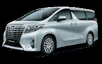 Toyota Alphard Medan 2017