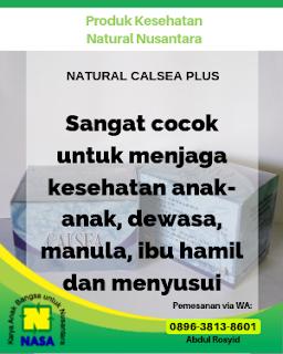 Natural Calsea Plus Peninggi Badan 12 Sachet