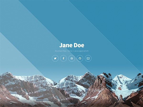 Aerial Responsive HTML Template