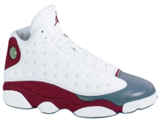 sports shoes da2e2 c704a ... Team Red Flint Grey (2005) - Ogkream jordan 13 flint low white Air  Jordan XIII Releases ...