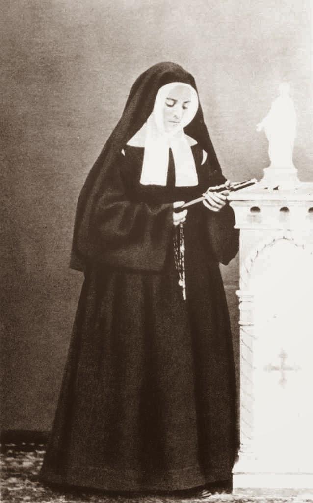 Santa Bernadette no convento de Saint Gildard, Nevers
