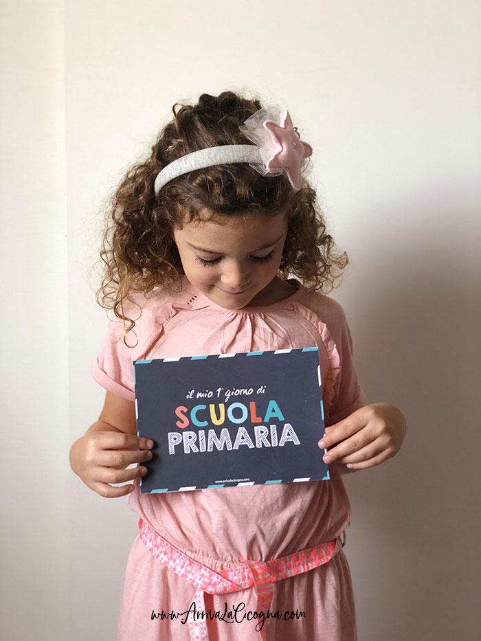 foto ricordo primo giorno di scuola