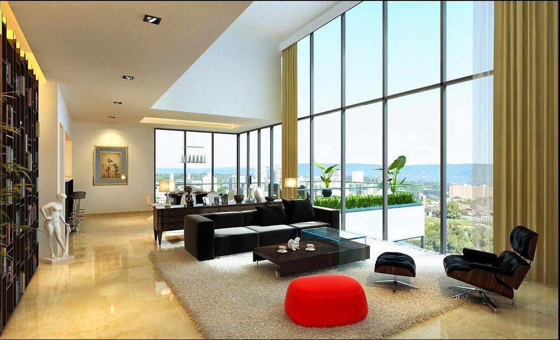 7 Home Design Ideas Contemporary Living Room