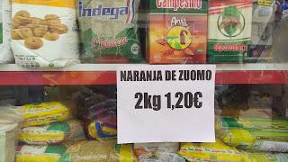 Patada al diccionario: Naranja de Zuomo