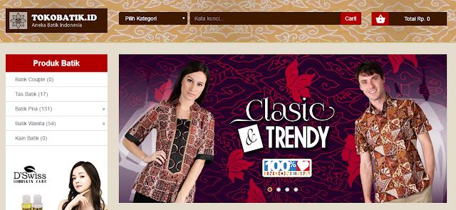 Toko Batik Jual Aneka Batik Khas Indonesia Paling Lengkap
